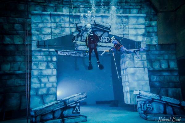 onderwater werken